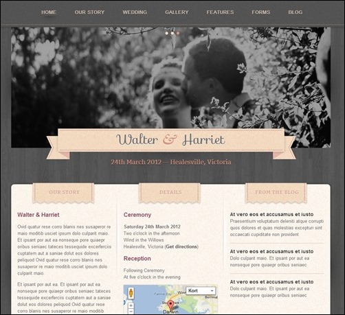 hitched-wedding-template