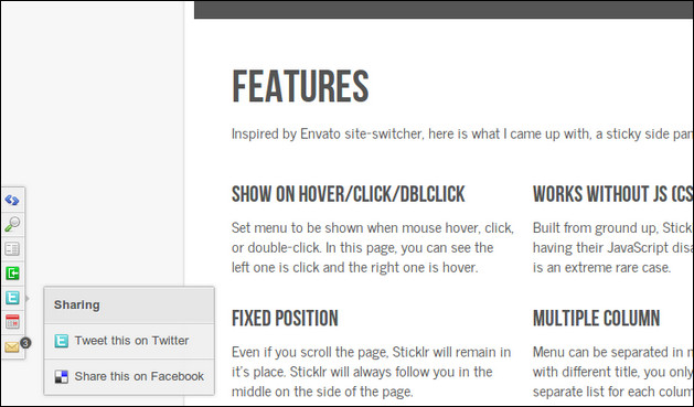 sticklr-sticky-side-panel-css3-jquery-plugin