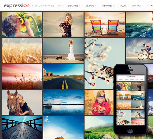 expression-wordpress-photography-theme
