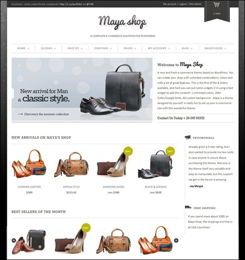 maya-shop-responsive-e-commerce-theme