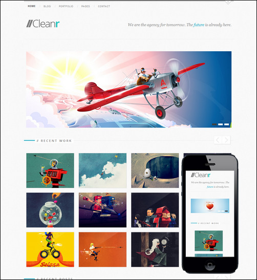 cleanr-responsive-grid-theme