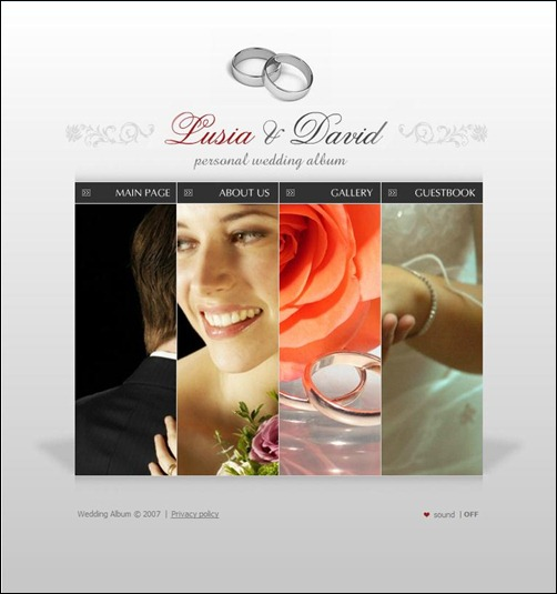 flash-wedding-template