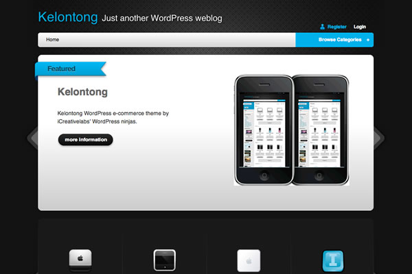 Kelontong WordPress freebie theme download