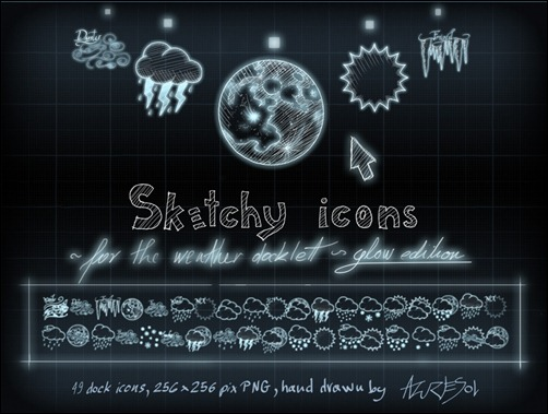 sketchy-weather-icons