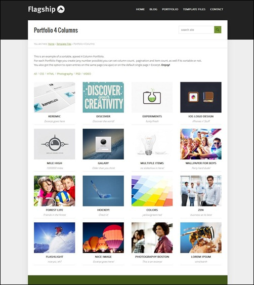 flagship best wordpress business theme