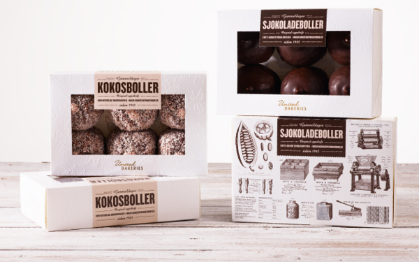 chocolate sweets united bakeries packaging