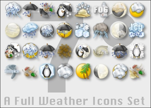 full-weather-icon-set