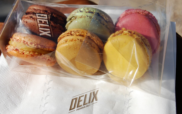 delix colorful packaging foods dessert bakery