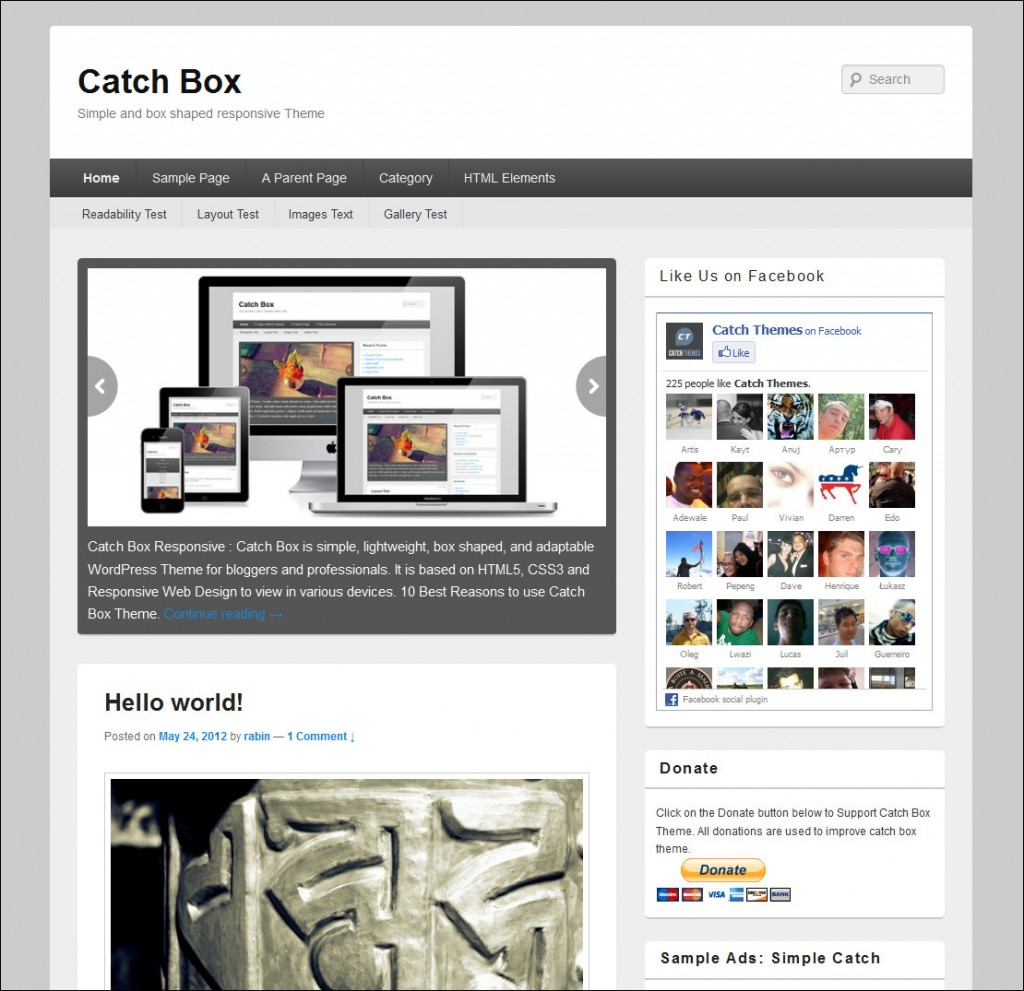 catch box-wordpress-business-theme