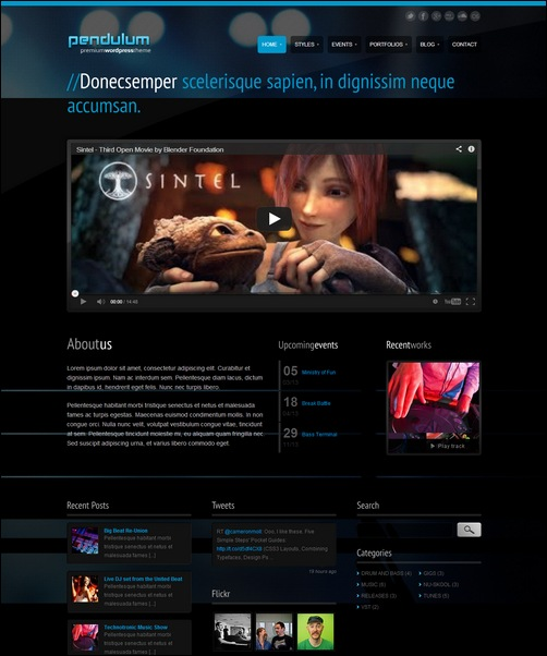pendulum-premium-dark-wordpress-theme