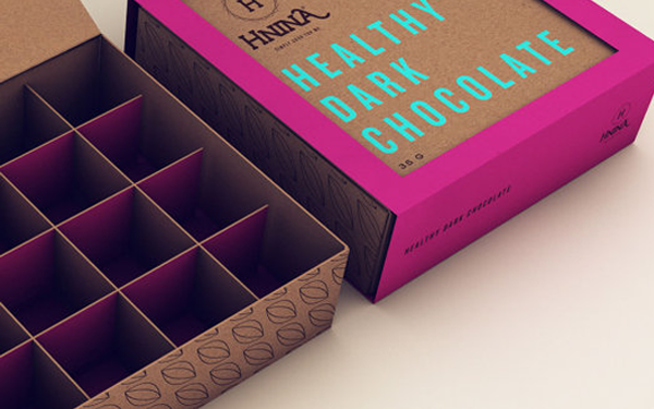 dark chocolate design packages wrappers