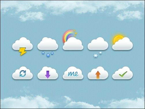 mini-clouds-set-