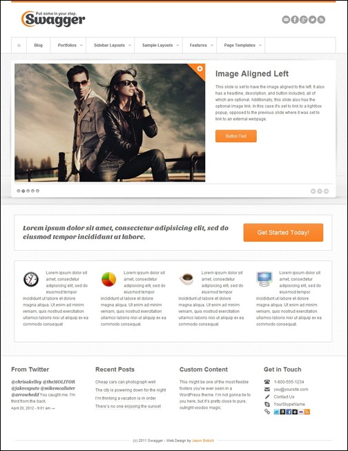 swagger-simple-wordpress-theme