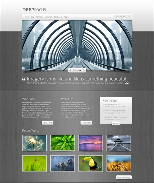 deepfocus best wordpress themes