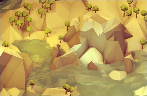 low-poly-isometrics-