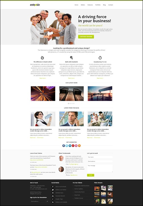 extensio-wordpress-business-theme