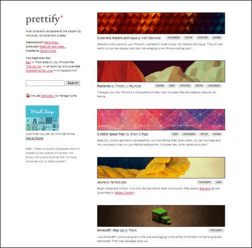 Prettify Creative Tumblr Blog Designs