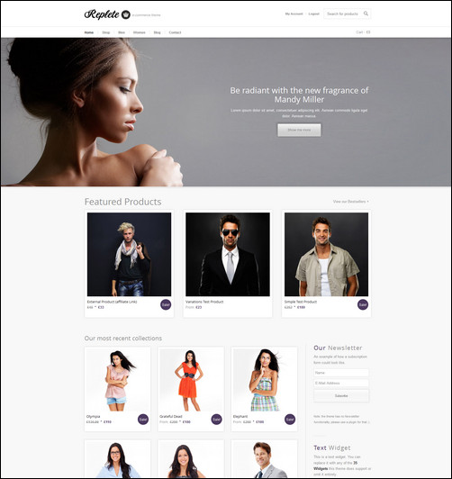 replete-ecommerce-and-business-wordpress-theme