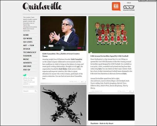 quirksville Creative Tumblr Blog Designs