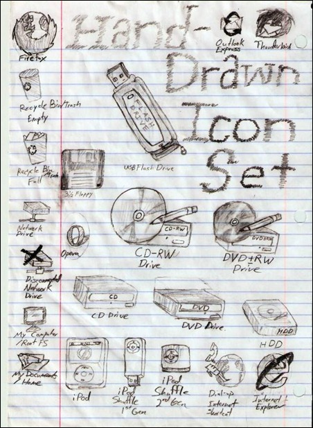 hand-drawn-icons--