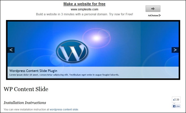 wordpress-content-slide
