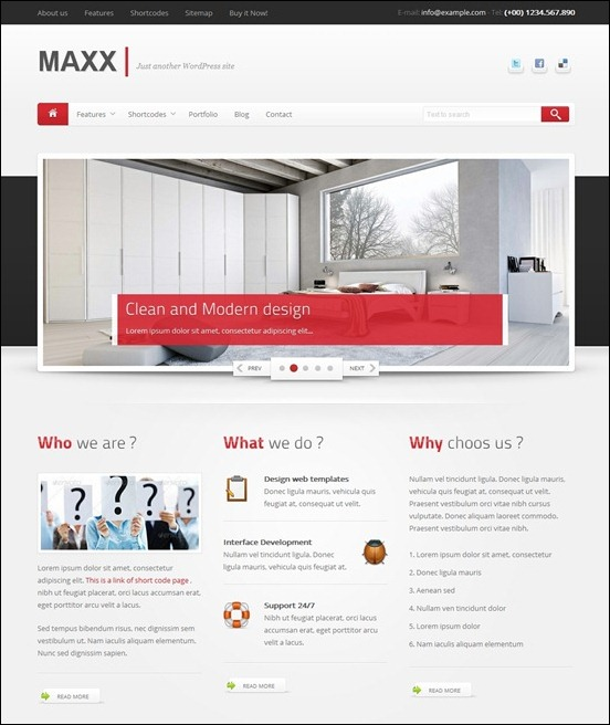 maxx-responsive-creative-wordpress-theme