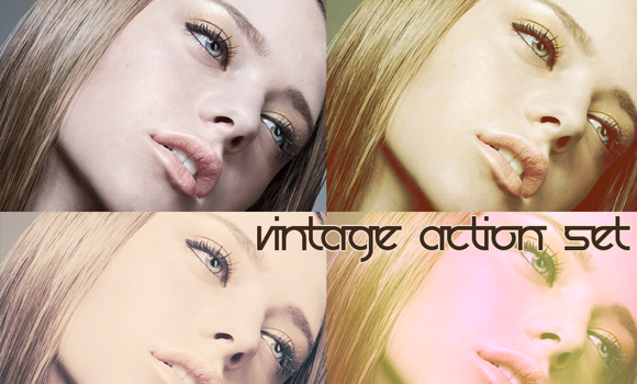 vintage actions download photoshop