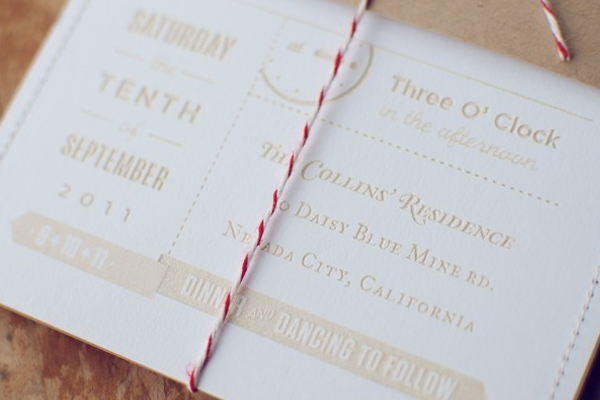 wooden forest invites paper wedding rsvp