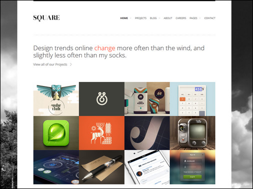 square-responsive-wordpress-theme