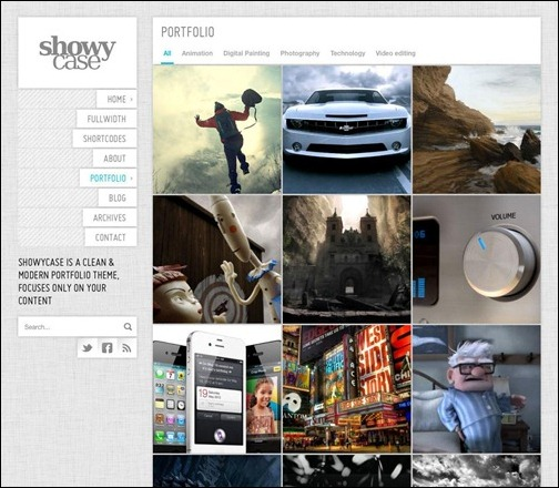 showycase-portfolio-photography-wp-theme
