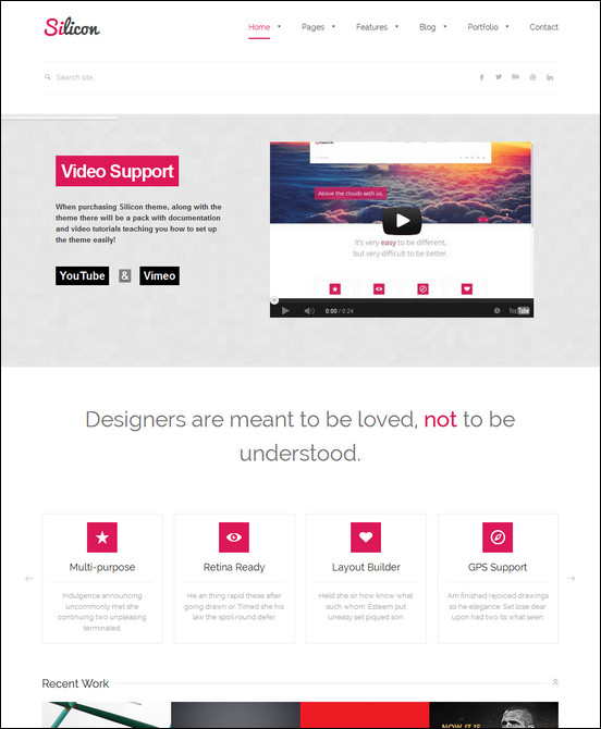 silicon-responsive-wordpress-theme