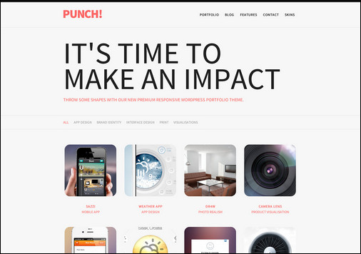 punch-responsive-portfolio-wordpress-theme