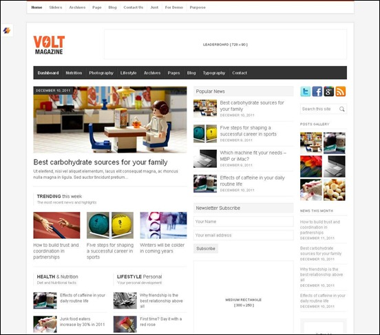 Volt-news-theme