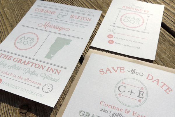 card invitation rsvp printed work creative behance