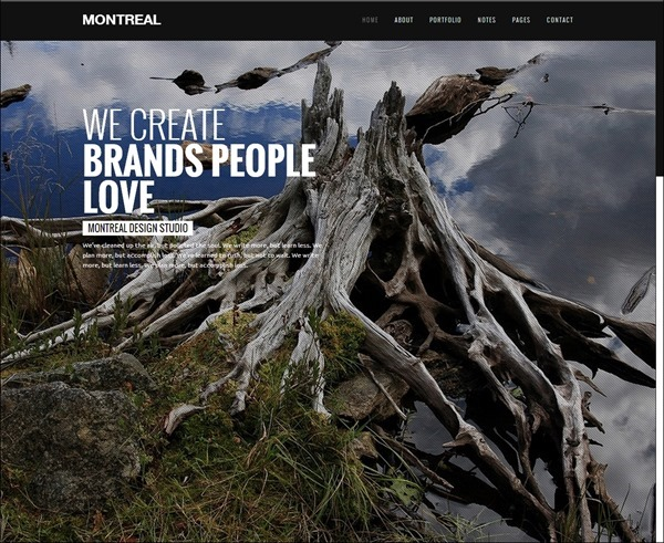 Montreal-Interactive-Creative-WordPress-Theme