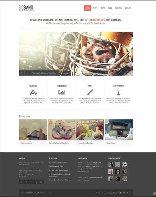 bigbang best wordpress themes