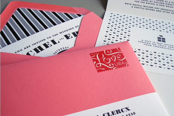 love inspiration pink envelopes creative types