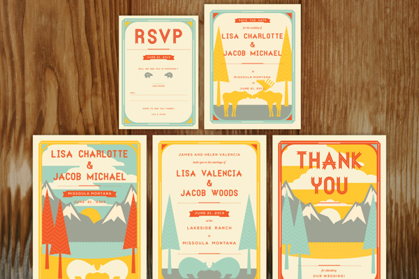 lisa and jacob wedding invitations