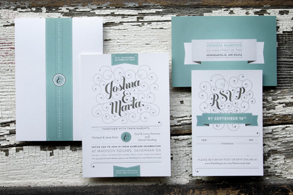 green earth wood tones texture wedding invitation