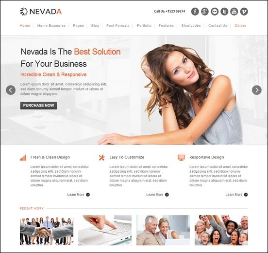 nevada-responsive-wp-theme
