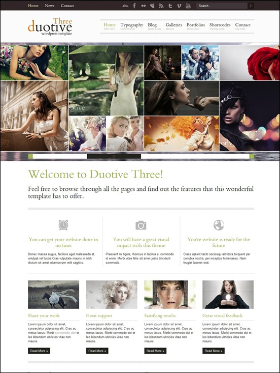 duotive best wordpress themes