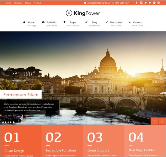 king-power-retina-ready-wp-theme
