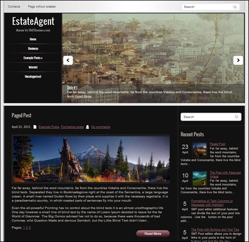 EstateAgent-WordPress-Theme