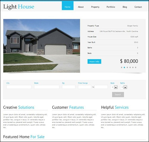 Light-House-Real-Estate-WordPress-Theme