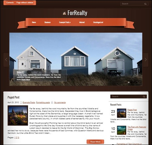 ForRealty-WordPress-Theme