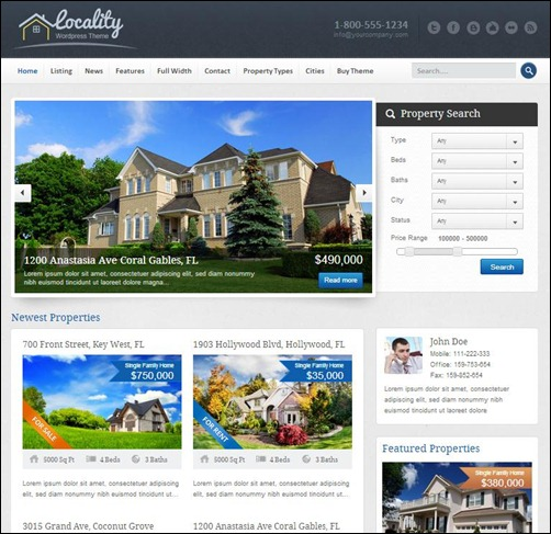 Localy-Real-Estate-WordPress-Theme