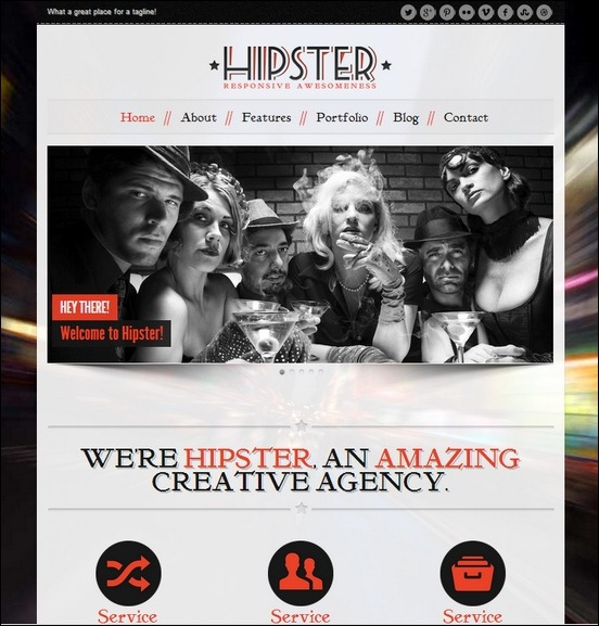 hipster-retro-responsive-wordpress-theme