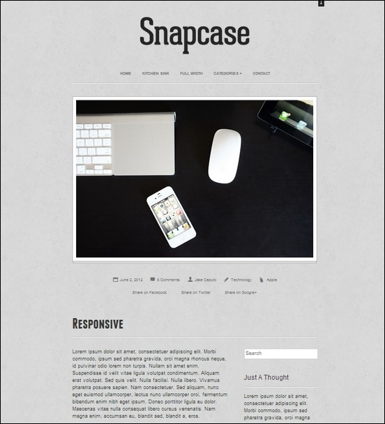 snapcase-responsive-wordpress-theme