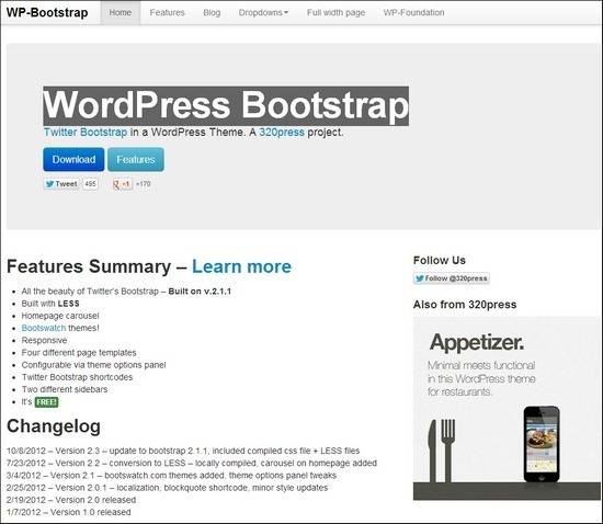 wordpress-bootstrap