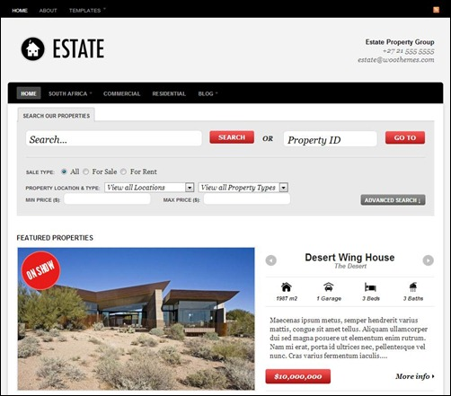 Estate-WordPress-Theme